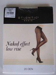 BLT-001 Rajstopy Naked Effect Low Rise  (20 DEN) Nero
