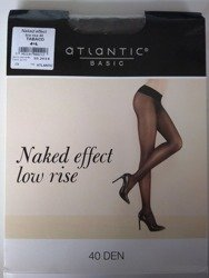 BLT-002 Rajstopy Naked Effect Low Rise  (40 DEN) Tabaco